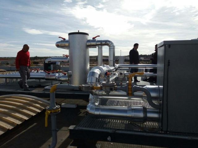 Instalaciones de gas en factorías y fábricas