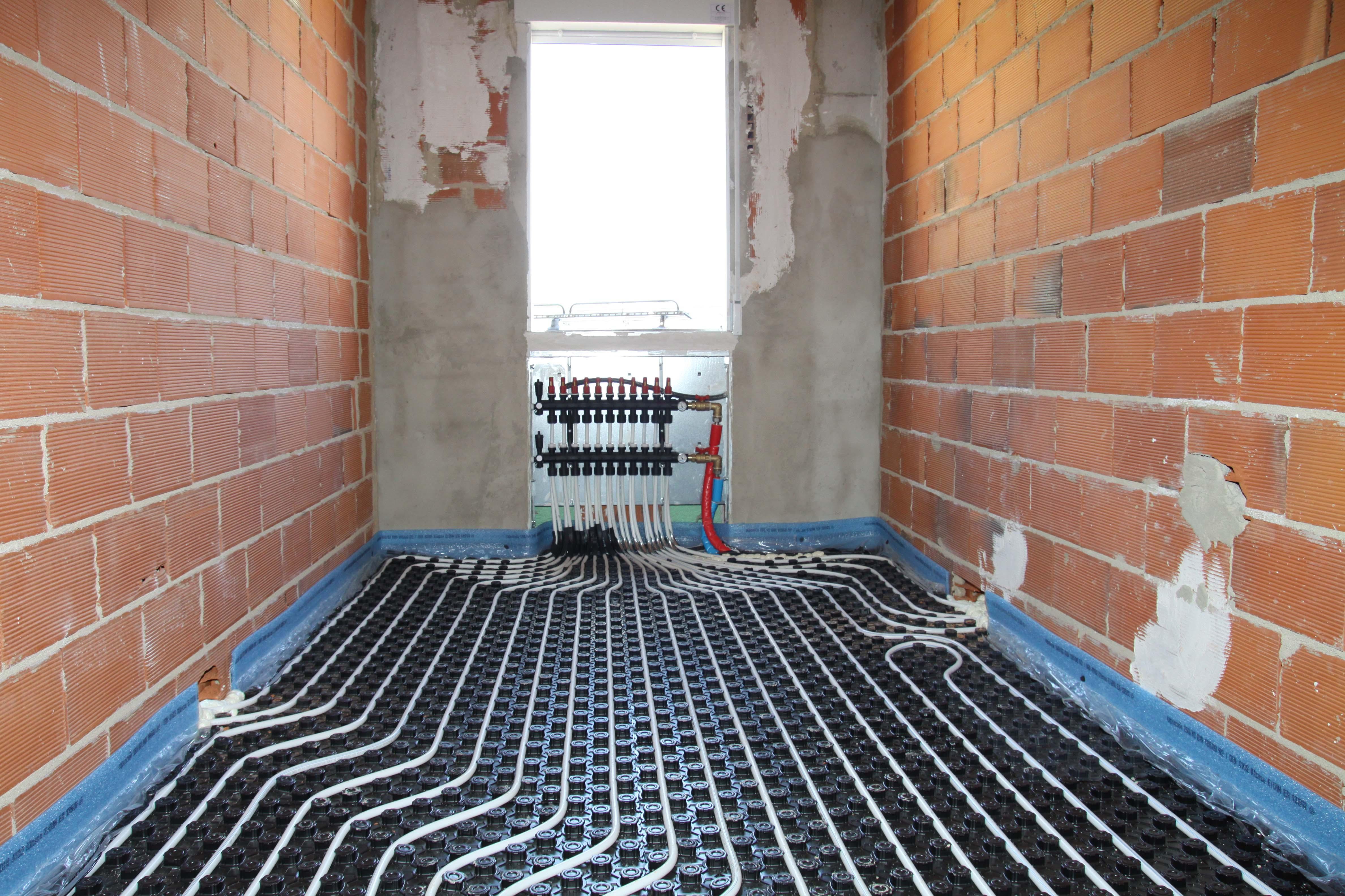 Instalacion suelo radiante